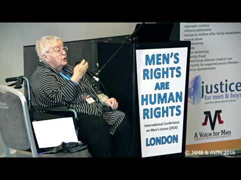 Erin Pizzey speaks at ICMI16 London