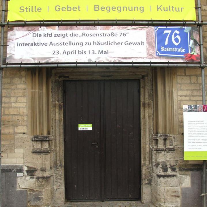 Rosenstraße 76 - Ausstellung über häusliche Gewalt in Mönchengladbach
