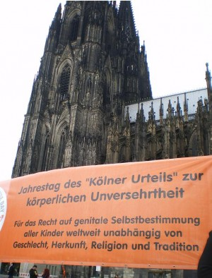 Am 7. Mai fand in Köln der WORLDWIDE DAY OF GENITAL AUTONOMY statt