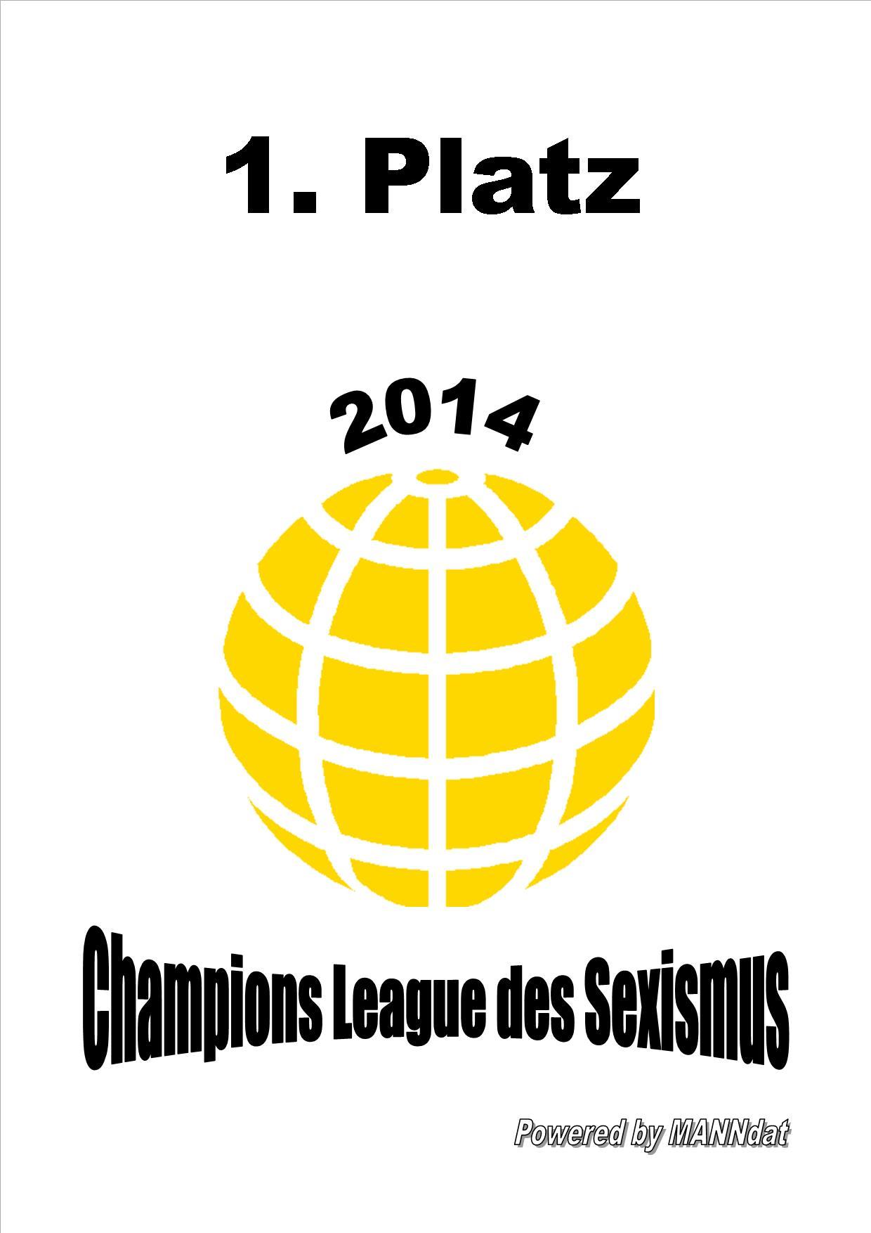 Sieger der Champions League des Sexismus: Das Frauenstatut der Grünen