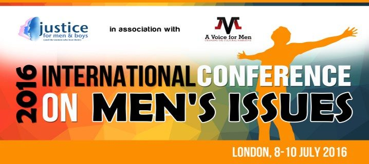 Poster der International Conference on Men's Issues