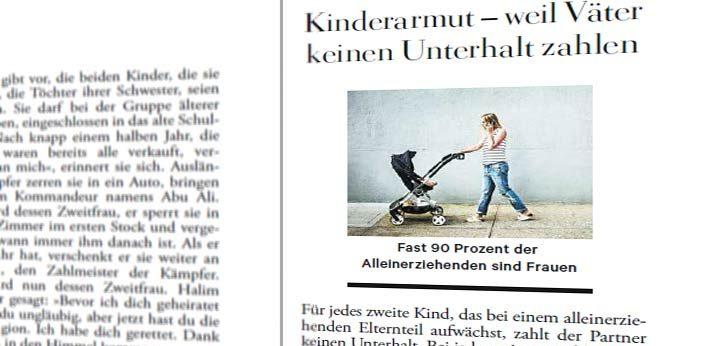 Kinderarmut - Väter zahlen nicht!