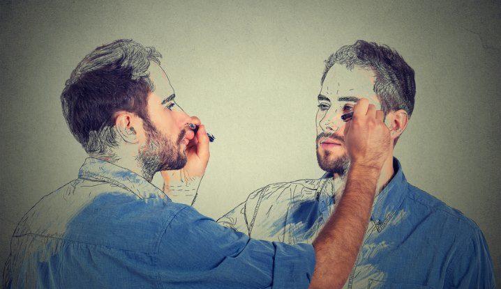 """Ein Mann im Spiegel: wird im Buch """"Der andere Mann"""" wirklich ein alternativer Blick auf Männer geworfen?"""