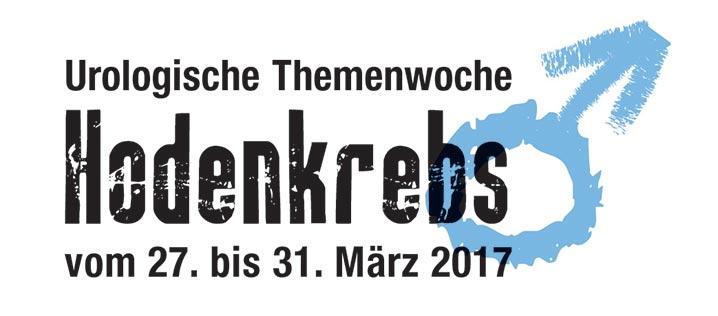 """Die urologische Themenwoche """"Hodenkrebs"""" findet vom 27.-31. März 2017 statt"""