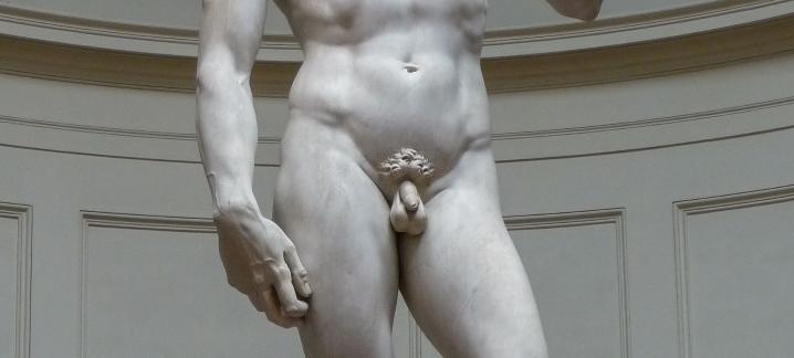 Skulptur des David von Michelangelo